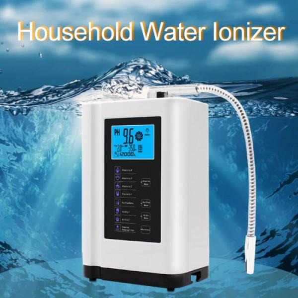 Household Water Ionizer 8 Water Settings