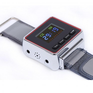 Laser Therapy Wrist Diodes LLLT For Diabetes Hypertension Treatment Watch