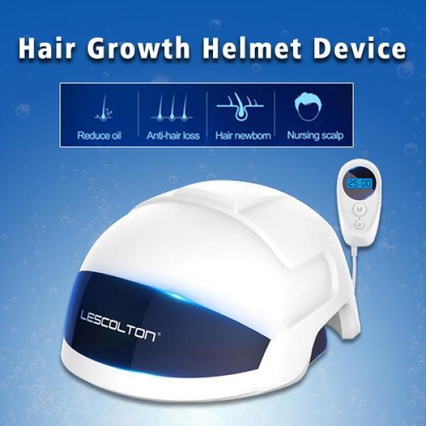Laser Hair Growth Helmet Hair Loss Prevent Promote Hair Regrowth Cap