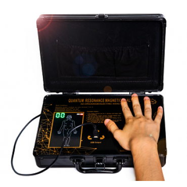 QRMA-993 Human Black Big Touch Quantum analyzer
