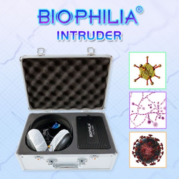 Biophilia Intruder NLS Bioresonance Machine for Fast screening the Bacteria and Viruses