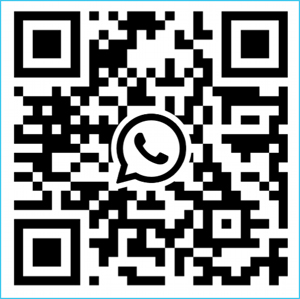 Please Scan the QR code as contact.